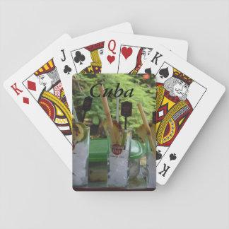 Verein-Cocktails Kubas Havana Pokerkarte