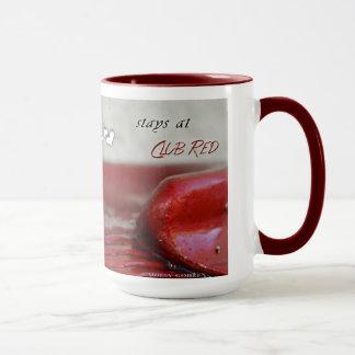 Verein-roter Tassen-Entwurf #888 Tasse