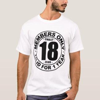 Verein schließlich 18 T-Shirt