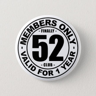 Verein schließlich 52 runder button 5,1 cm