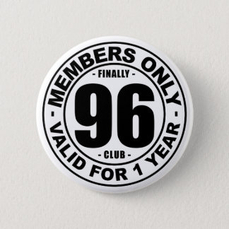 Verein schließlich 96 runder button 5,7 cm