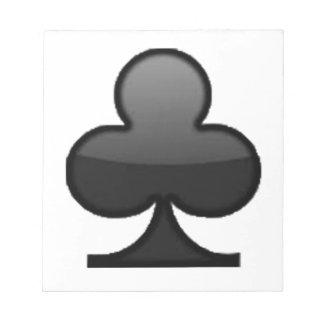 Vereine - Emoji Notizblock