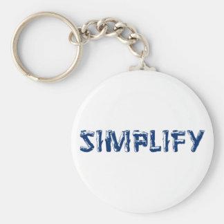 Vereinfachen Sie Schlüsselanhänger