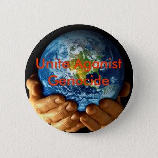 Vereinigen Sie gegen Genozid Runder Button 5,7 Cm