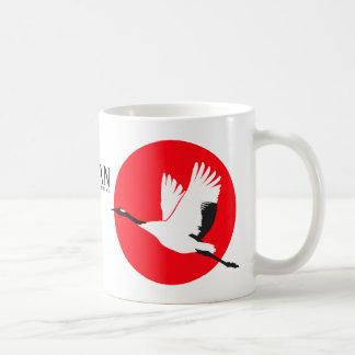Vereinigt, um Japan-Tasse zu helfen Tasse
