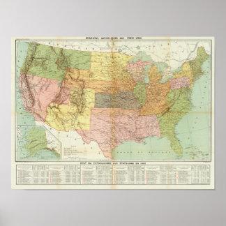 Vereinigte Staaten 34 Poster