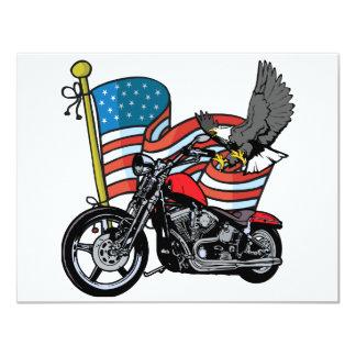 Vereinigte Staaten Eagle 10,8 X 14 Cm Einladungskarte