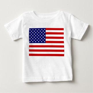 Vereinigte Staaten kennzeichnen Baby T-shirt