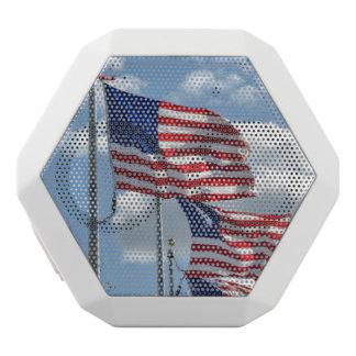 Vereinigte Staaten kennzeichnen Fotografie Weiße Bluetooth Lautsprecher