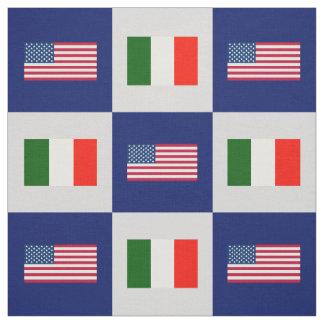 Vereinigte Staaten kennzeichnen, Italien-Flagge Stoff