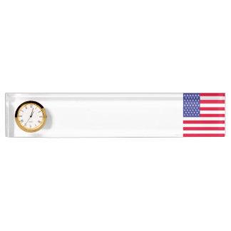 Vereinigte Staaten kennzeichnen Schreibtischplakette