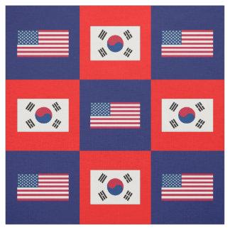 Vereinigte Staaten kennzeichnen, Südkorea-Flagge Stoff