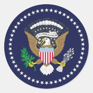 Vereinigte Staaten präsidential Runder Sticker