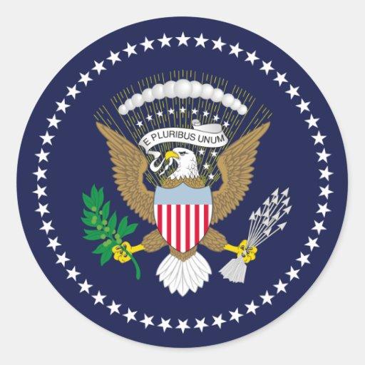 Vereinigte Staaten präsidential Sticker