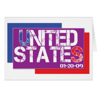Vereinigte Staaten sind lila Karte