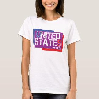 Vereinigte Staaten sind lila T-Shirt