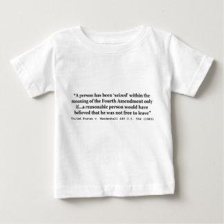 Vereinigte Staaten V Mendenhall 446 US 544 1980 Baby T-shirt