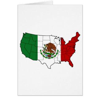 Vereinigte Staaten von Mexiko Karte