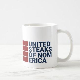 Vereinigte Steaks von nomerica mugster Kaffeetasse