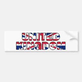 Vereinigtes Königreich 006 Autoaufkleber