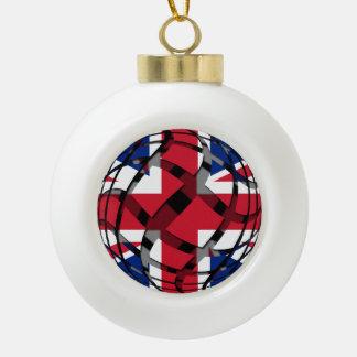 Vereinigtes Königreich #1 Keramik Kugel-Ornament
