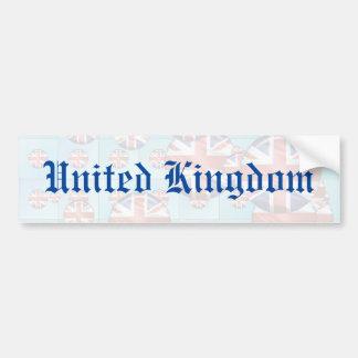 Vereinigtes Königreich Autoaufkleber