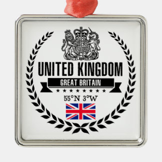 Vereinigtes Königreich Silbernes Ornament