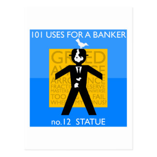 verewigtes… zerstörtes… Occupy Wall Street Postkarte