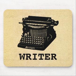 Verfasser-antike Schreibmaschine Mousepad