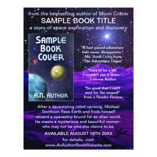 Verfasser-Autorn-Buch-Werbeaktion-Raum-Science Flyer