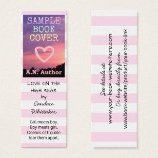 Verfasser-Autorn-Romance Mini Visitenkarte