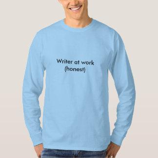 Verfasser bei der Arbeit (ehrlich) T-Shirt