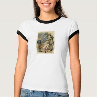Verfasser in London in der großen T der 1890s T-Shirt