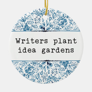 Verfasser-Pflanzen-Ideen-Gärten des Keramik Ornament