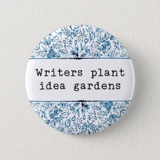 Verfasser-Pflanzen-Ideen-Gärten des Runder Button 5,7 Cm