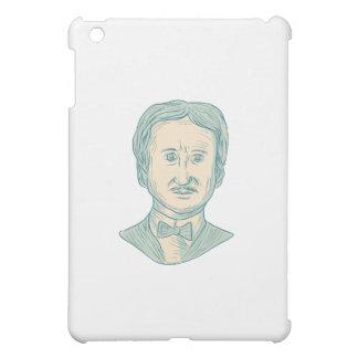 Verfasser-Zeichnen Edgar Allan Poe iPad Mini Hülle