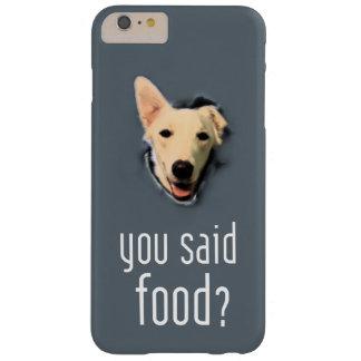 Verfolgen Sie Pop für Nahrung auf iPhone 6/6s plus Barely There iPhone 6 Plus Hülle