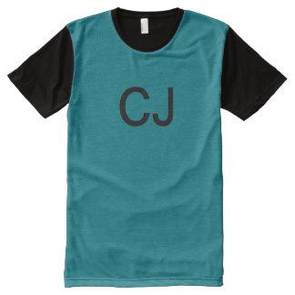 Verfolgungs-Johnston-T-Shirt T-Shirt Mit Bedruckbarer Vorderseite