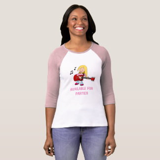 Verfügbar für Partys T-Shirt