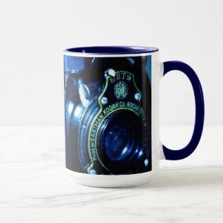 Vergangenes Jahr gefangennehmen eine Vintage Tasse