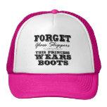 Vergessen Sie Glaspantoffel, diese Prinzessin Wear Trucker Mütze