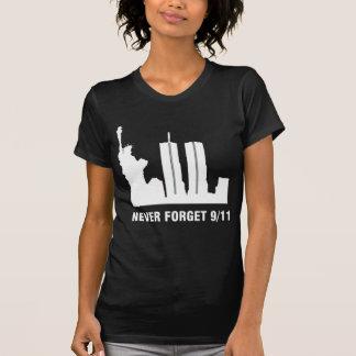 VERGESSEN Sie NIE am 9. September 2001 T-Shirt