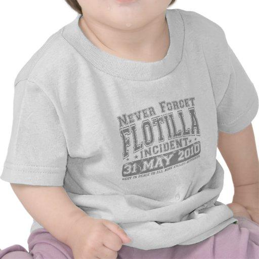 Vergessen Sie nie Flotille-Vorfall Hemd