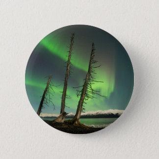 Vergessene gezierte Aurora Runder Button 5,1 Cm