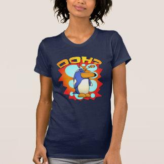 Vergesslicher Penguin-Damen-T - Shirt