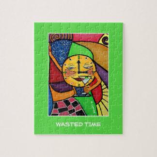 Vergeudete Zeit - Zeit-Stücke Puzzle