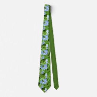Vergissmeinnicht-Krawatte Personalisierte Krawatten