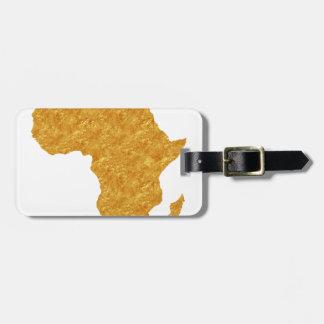 Vergoldet Afrika Kofferanhänger