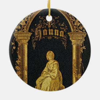 Vergoldetes Bucheinband-Antiken-jüdisches Keramik Ornament