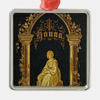 Vergoldetes Bucheinband-Antiken-jüdisches Silbernes Ornament